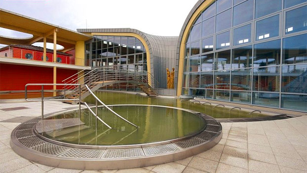 Venkovní bazénový svět