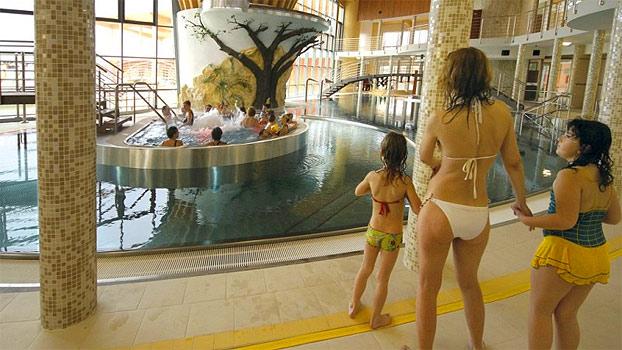 Vnitřní bazénový komplex